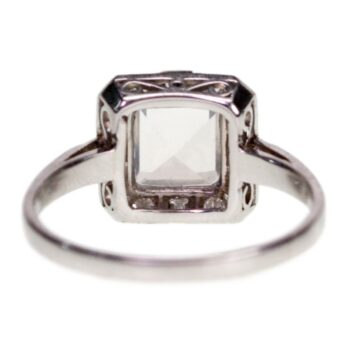 Moonstone, Diamond Platinum Ring 4682AP Image3