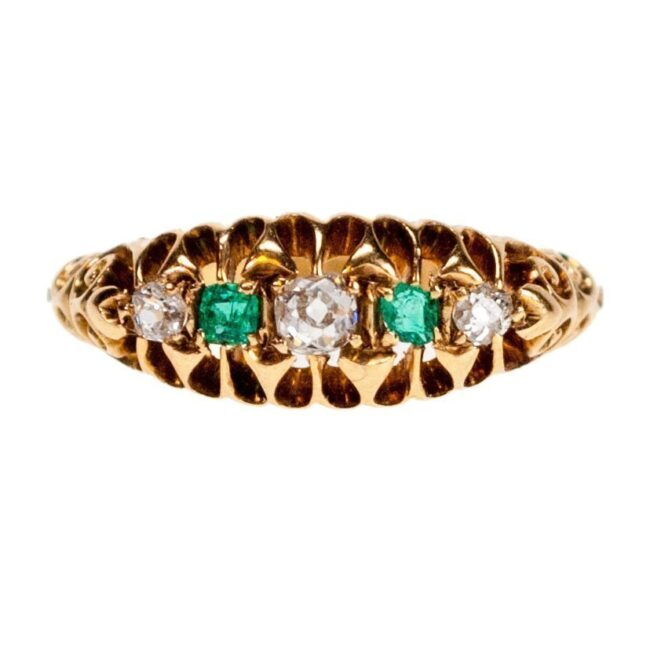 Diamond, Emerald, Ring 1050SY Image1