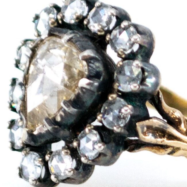 Diamond, Gold, Silver Ring 7020AS Image3