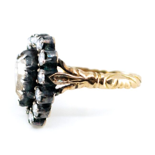 Diamond, Gold, Silver Ring 7020AS Image4