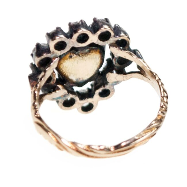 Diamond, Gold, Silver Ring 7020AS Image5