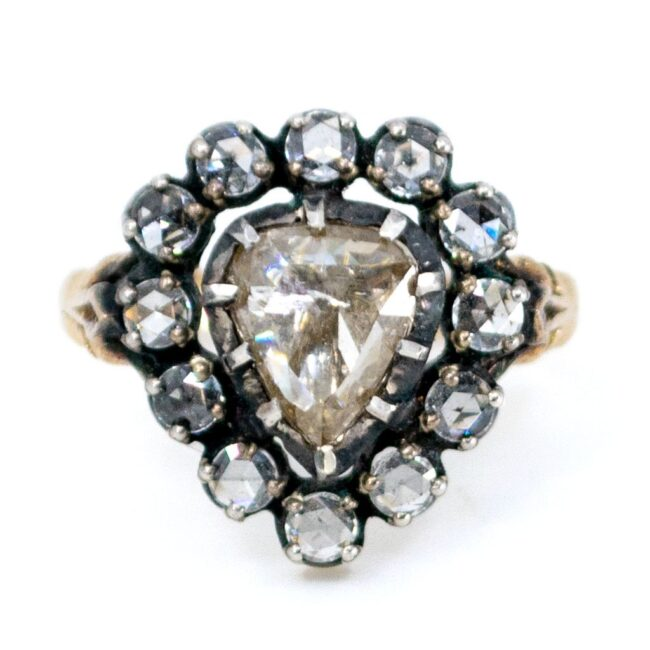 Diamond, Gold, Silver Ring 7020AS Image1