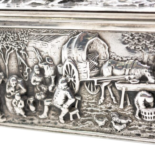 Dutch Silver Box 2630LS Image4
