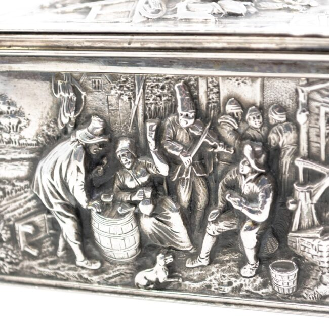 Dutch Silver Box 2630LS Image5