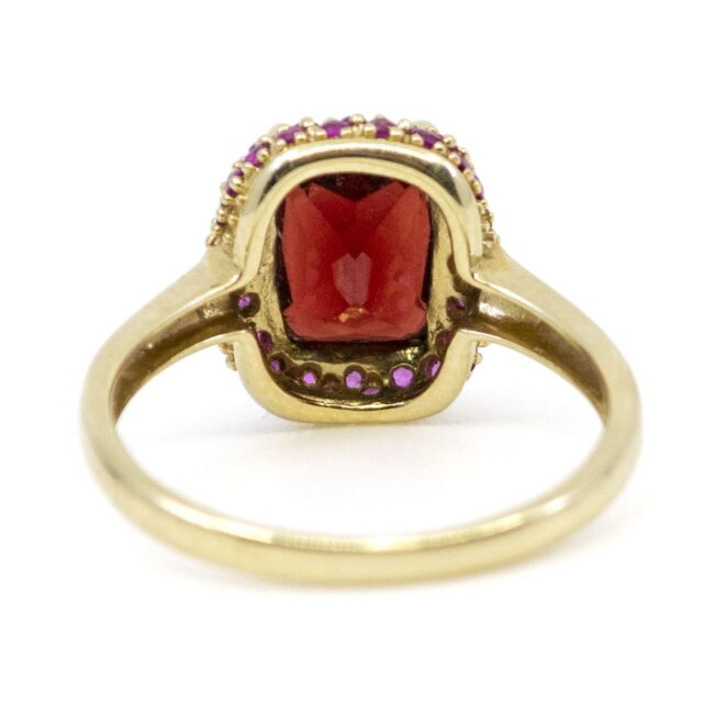 Garnet, Ruby, Ring 1317SY Image4
