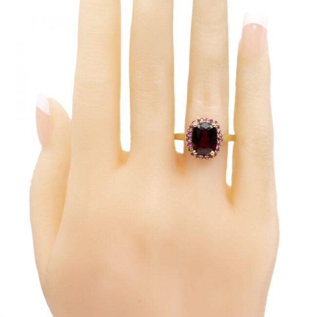 Garnet, Ruby, Ring 1317SY Image5