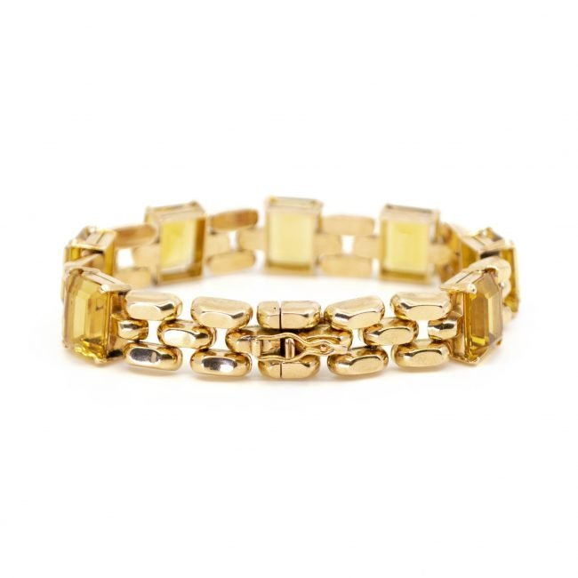 Citrine, Gold Bracelet 2202GM Image2