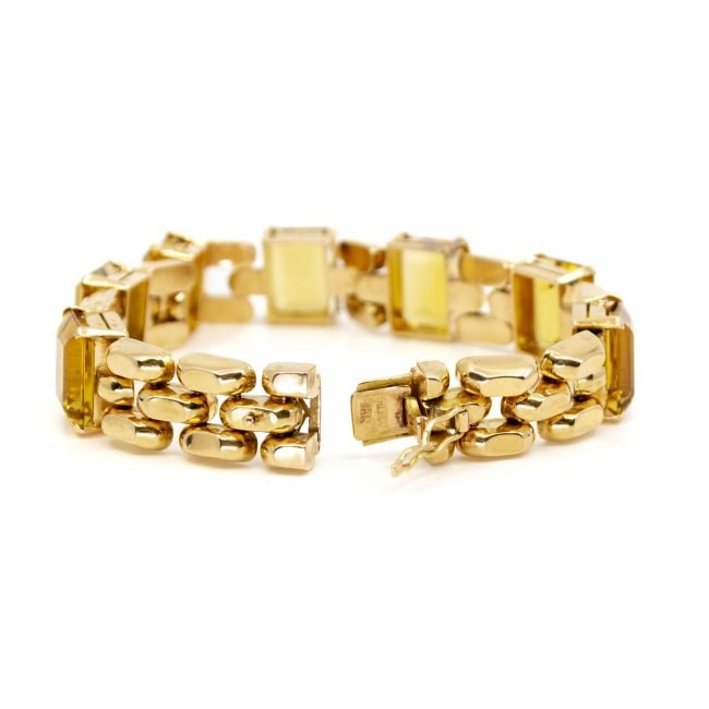 Citrine, Gold Bracelet 2202GM Image3