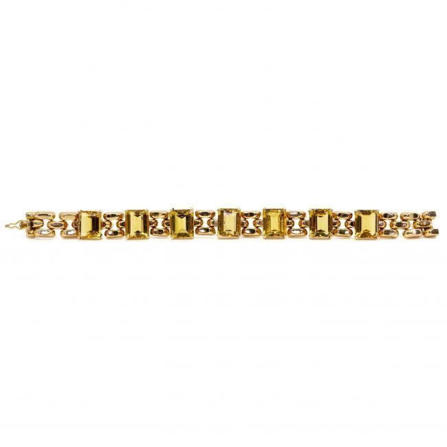 Citrine, Gold Bracelet 2202GM Image4