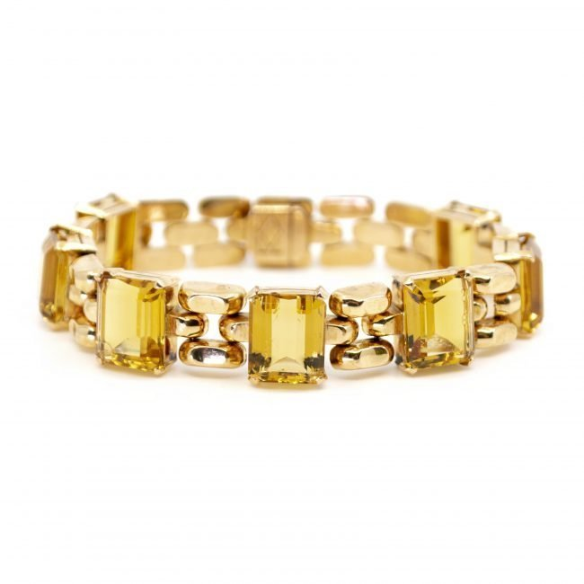 Citrine, Gold Bracelet 2202GM Image1