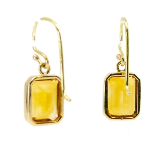 Citrine, Gold Earrings 6774LA Image4