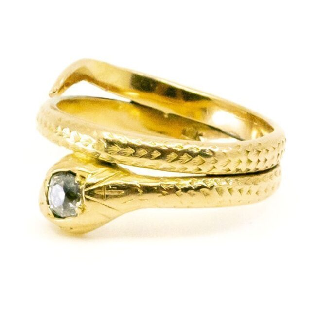 Diamond, Gold Ring 2085GM Image2