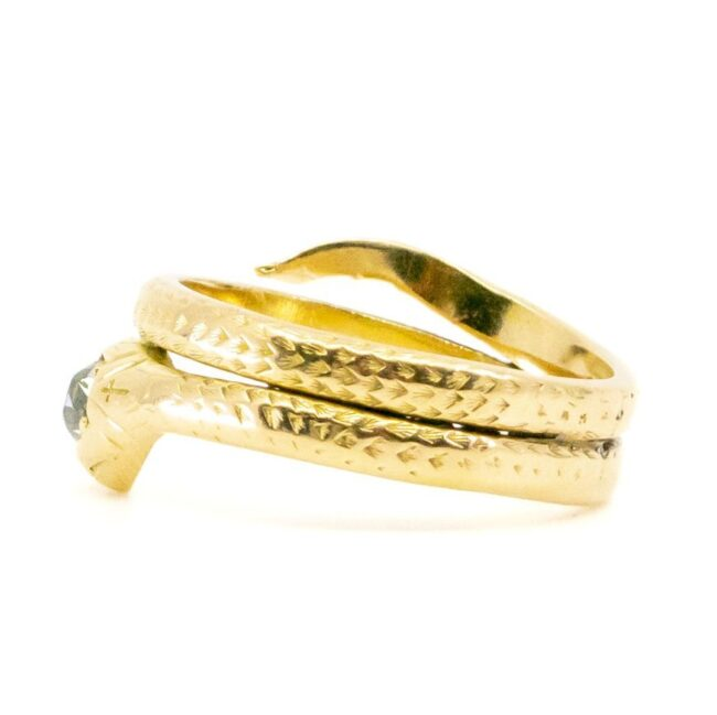 Diamond, Gold Ring 2085GM Image4