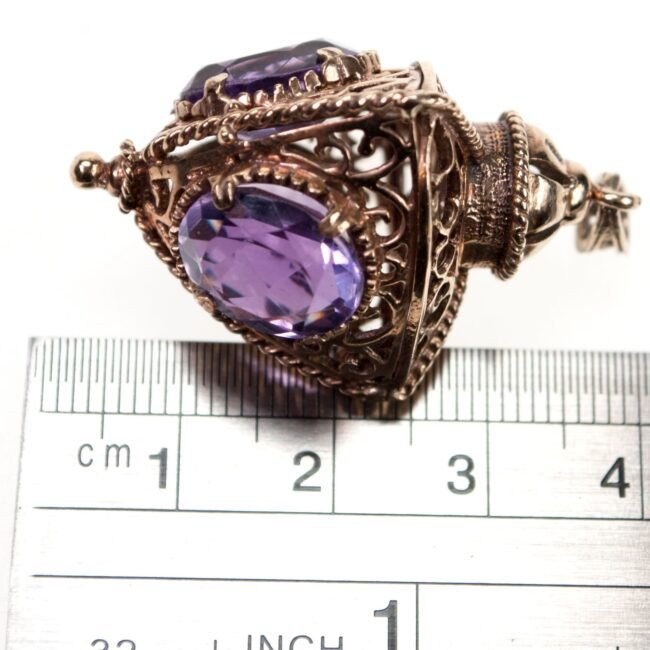 Amethyst, Gold Pendant 0978SY Image2