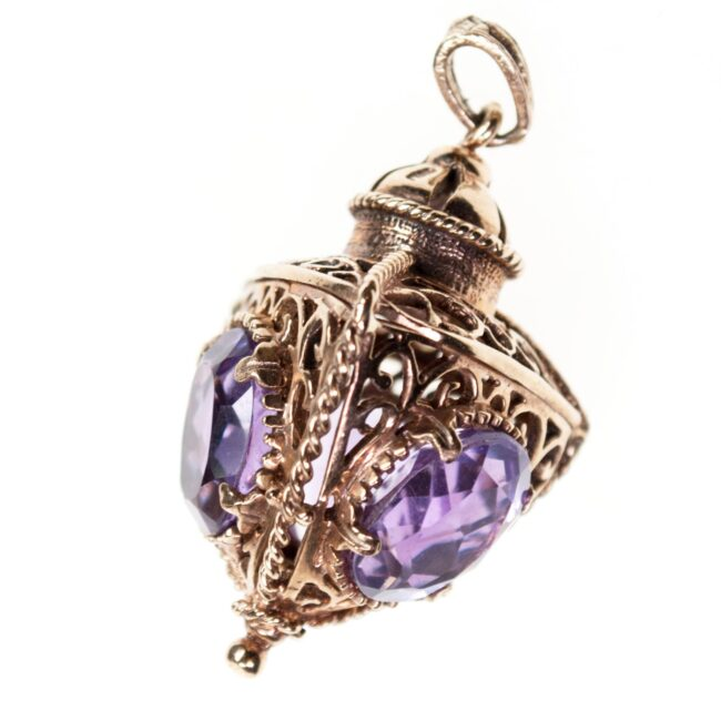 Amethyst, Gold Pendant 0978SY Image1