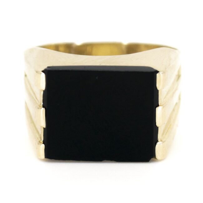 Onyx, Gold Ring 6780LA Image1