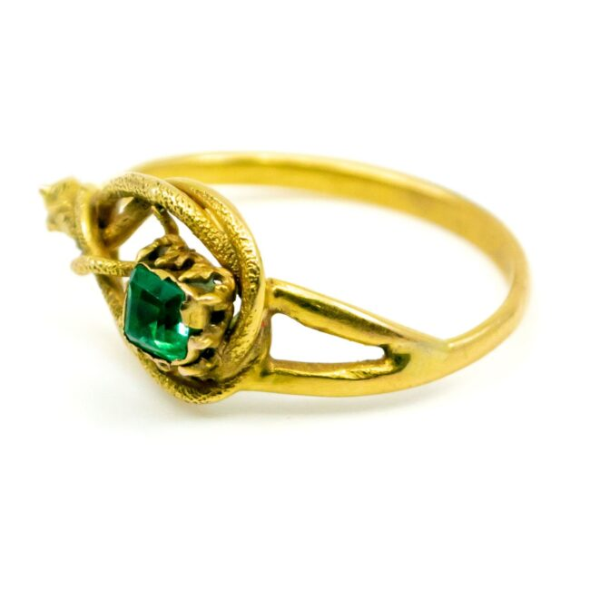 Emerald, Gold Ring 1490SY Image2