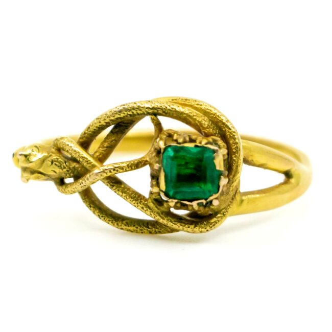 Emerald, Gold Ring 1490SY Image3