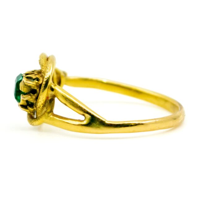 Emerald, Gold Ring 1490SY Image4