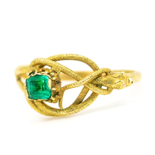 Emerald, Gold Ring 1490SY Image1