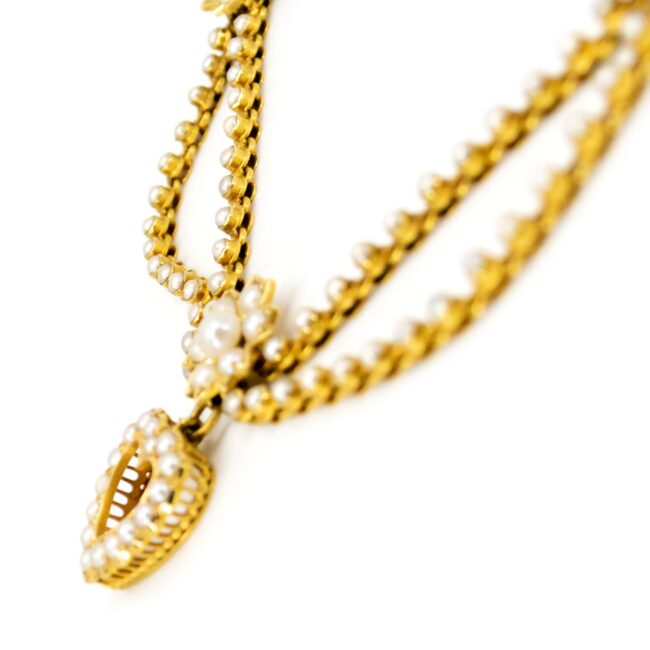 Pearl, Gold Necklace 1470SY Image3