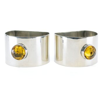 Glass, Silver Napkin Ring 2648LS Image2