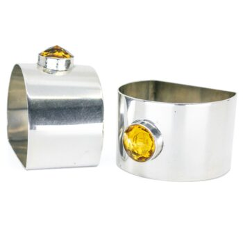 Glass, Silver Napkin Ring 2648LS Image3