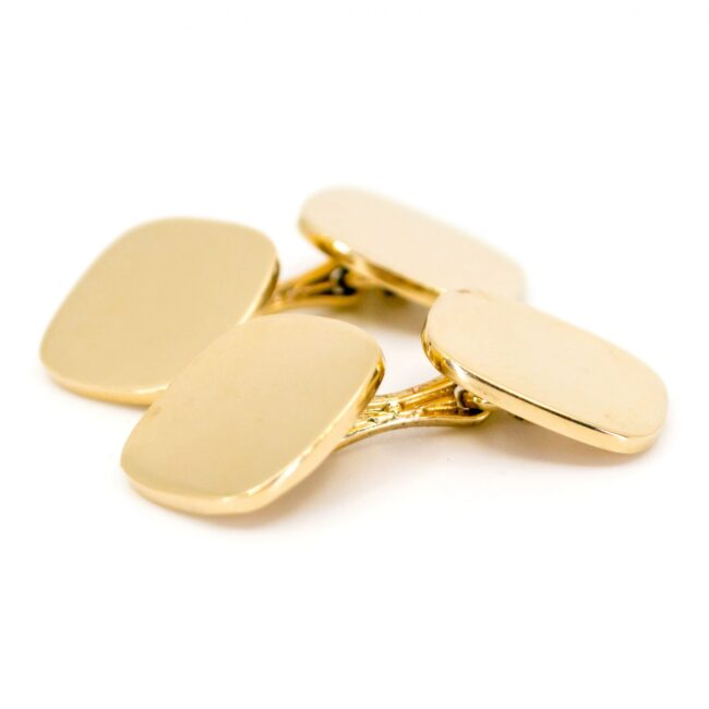 Tiffany & Co. Gold Cufflinks 6546LA Image2