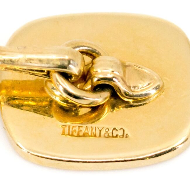 Tiffany & Co. Gold Cufflinks 6546LA Image4