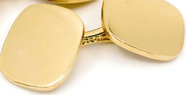 Tiffany & Co. Gold Cufflinks 6546LA Image5
