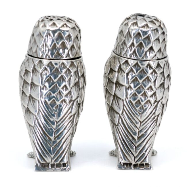 Silver Salt and pepper shakers 2851LS Image4