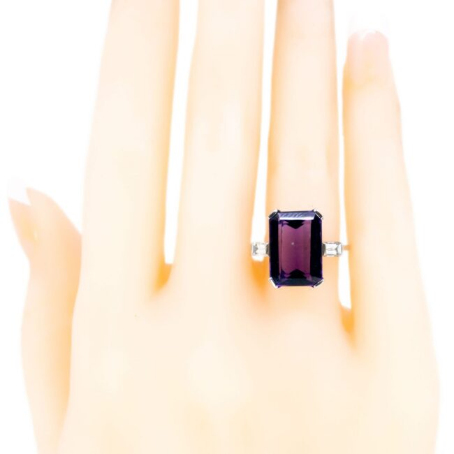 Amethyst, bwpg, Diamond, Ring 2336GM Image5