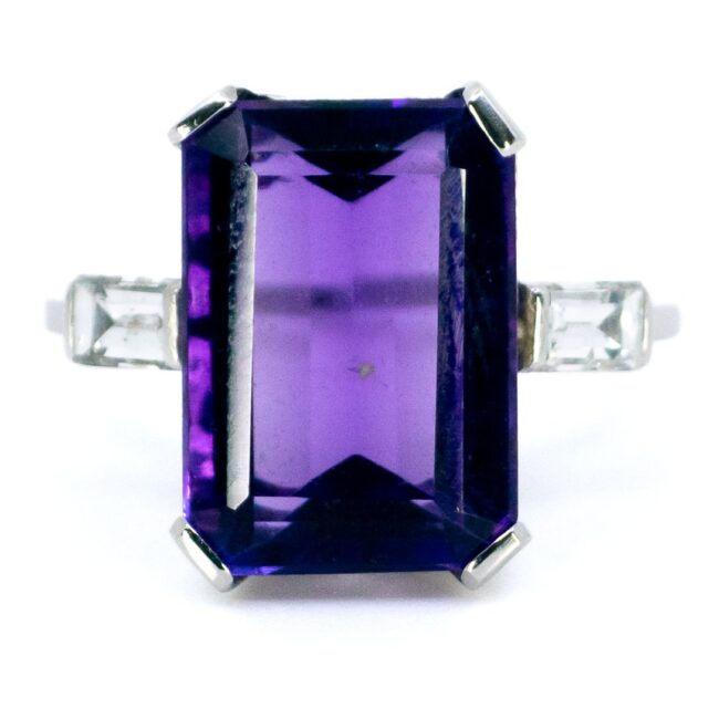 Amethyst, bwpg, Diamond, Ring 2336GM Image1
