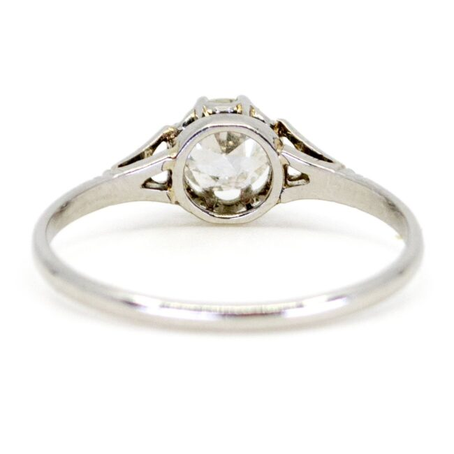 Diamond, Platinum Ring 0431RM Image4
