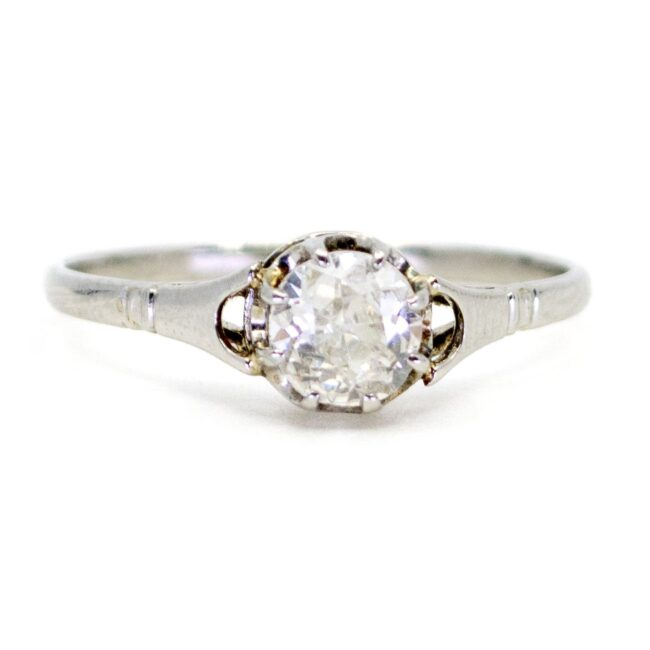Diamond, Platinum Ring 0431RM Image1