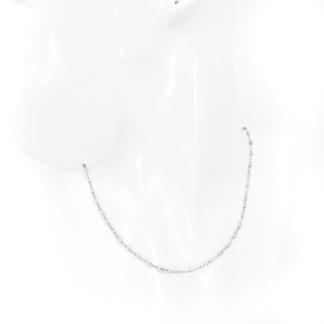 Pearl, Platinum Necklace 6143EE Image4