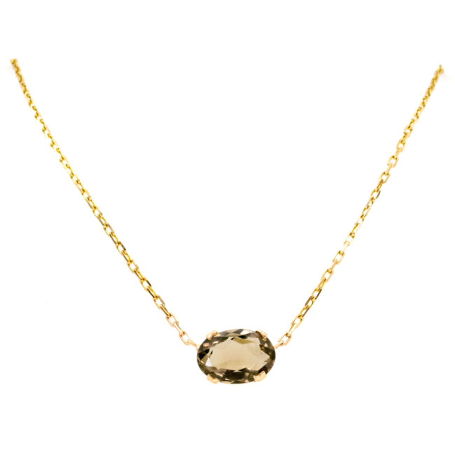 Quartz, 9ct Necklace 12666-6295 Image1
